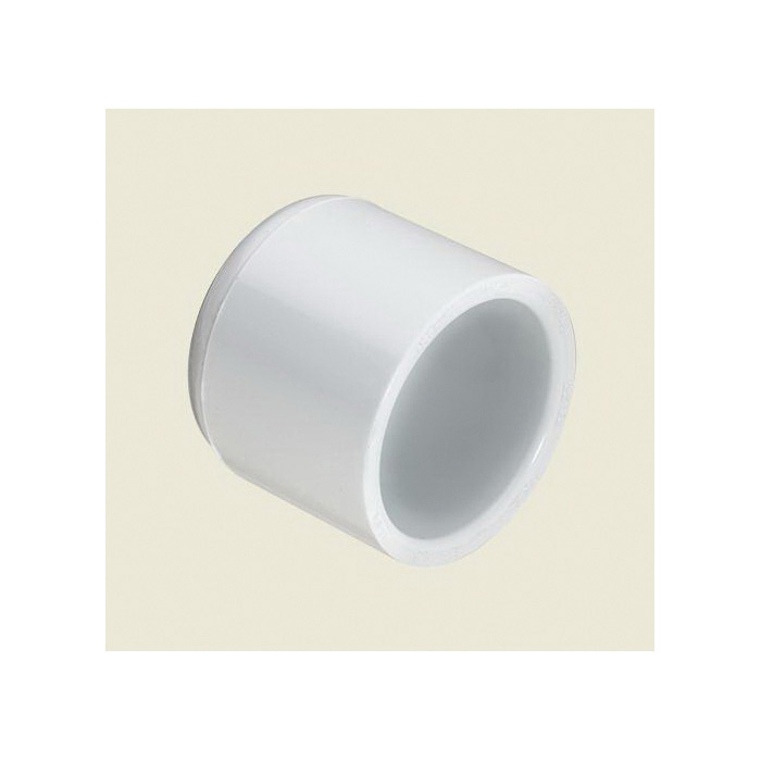 Spears® 447-010 Pipe Cap, 1 in, Socket, SCH 40/STD, PVC, Domestic