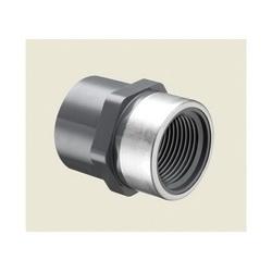Spears® 835-010SR Standard Pipe Adapter, 1 in, Socket x Special Reinforced FNPT, SCH 80/XH, PVC, Domestic