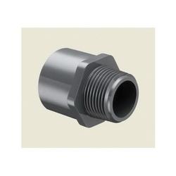 Spears® 836-010 Standard Pipe Adapter, 1 in, MNPT x Socket, SCH 80/XH, PVC, Domestic