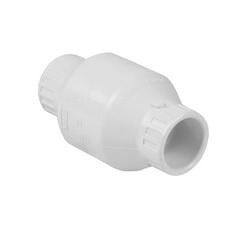Spears® S1520-12 Utility Swing Check Valve, 1-1/4 in, Socket, PVC Body, Domestic