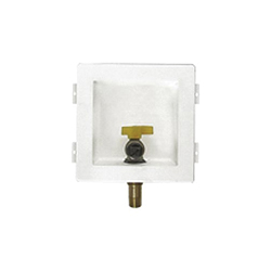 Speciality Products™ Perfect Fit™ GSB-101 Unassembled Gas Outlet Box, 1/2 in Male x 1/2 in Female, 5-1/16 in L, Brass