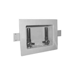 Speciality Products™ OB-216 Unassembled Washing Machine Outlet Box With PEX Valves, Plastic Body