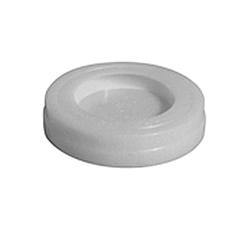 Speciality Products™ P-0015 DWV Cap On Test Cap, 2 in Dia, Plastic, White
