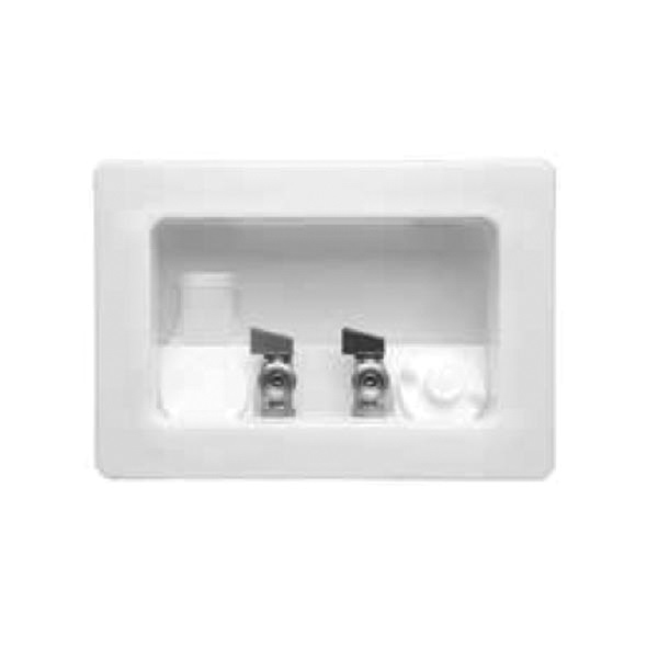 Speciality Products™ P-00910 Faceplate, For Use With Speciality Products™ Washing Machine Outlet Box, Plastic