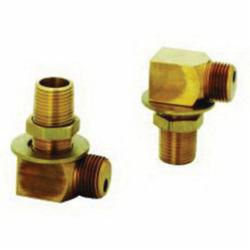 T & S B-0230-K Installation Elbow Kit, 1/2 in MNPT Inlet x 1/2 in FNPT Outlet, Brass