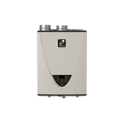 Takagi TH3DVNG H3 Tankless Water Heater, Natural Gas Fuel, 199000 Btu/hr Heating, Indoor/Outdoor: Indoor, Condensing/Non Condensing: Condensing, 10 gpm, 4 in Power Direct Vent, 0.93, Commercial/Residential/Dual: Dual, Ultra Low NOx: Yes