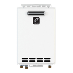 Takagi TK4OSNG K4 Tankless Water Heater, Natural Gas Fuel, 190000 Btu/hr Heating, Indoor/Outdoor: Outdoor, Condensing/Non Condensing: Non-Condensing, 8 gpm, 4 in, 0.8, Commercial/Residential/Dual: Dual, Ultra Low NOx: No