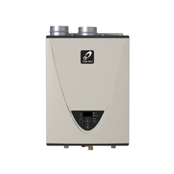 Takagi TH3DVLP H3 Tankless Water Heater, Liquid Propane Fuel, 199000 Btu/hr Heating, Indoor/Outdoor: Indoor, Condensing/Non Condensing: Condensing, 10 gpm, 4 in Power Direct Vent, 0.93, Commercial/Residential/Dual: Dual, Ultra Low NOx: Yes