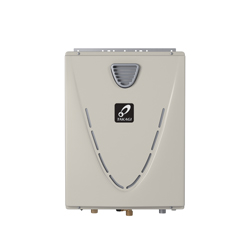 Takagi TH3OSNG H3 Tankless Water Heater, Natural Gas Fuel, 199000 Btu/hr Heating, Indoor/Outdoor: Outdoor, Condensing/Non Condensing: Condensing, 10 gpm, 4 in, 0.95, Commercial/Residential/Dual: Dual, Ultra Low NOx: Yes