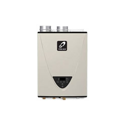 Takagi TK-540P-PIH 540P Tankless Water Heater, Liquid Propane Fuel, 199000 Btu/hr Heating, Indoor/Outdoor: Indoor, Condensing/Non Condensing: Condensing, 10 gpm, 3 in and 4 in Direct Vent, 0.94, Commercial/Residential/Dual: Residential, Ultra Low NOx: Yes