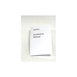 Toto® 0GU035 Installation and Owner's Manual, For Use With Guinevere® LT973 (G) Under Counter Lavatory