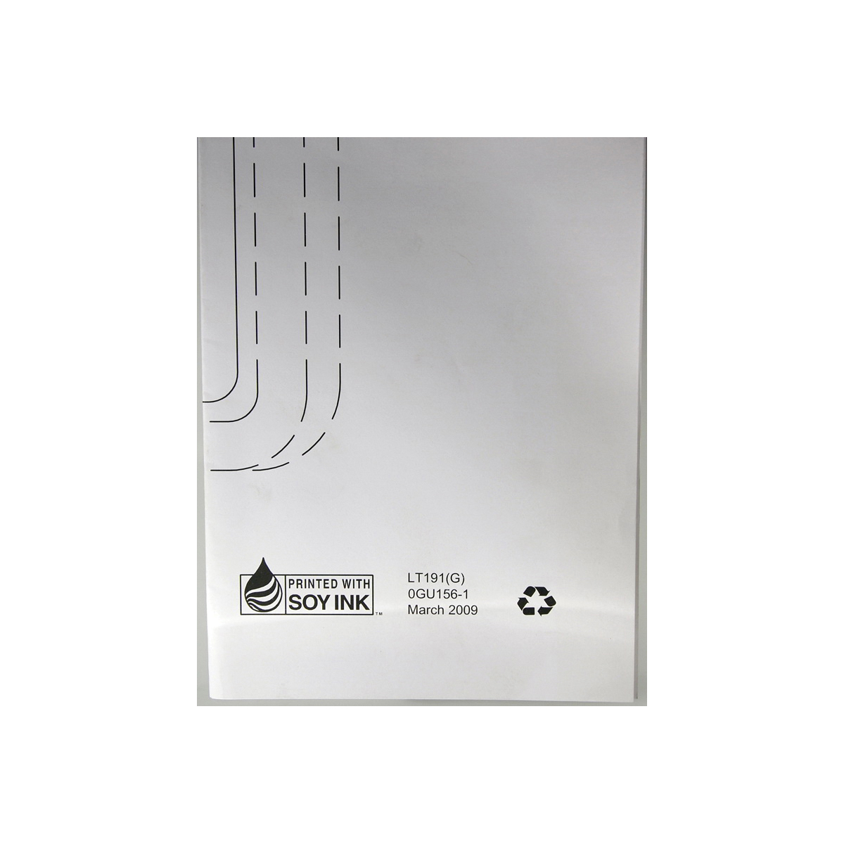 Toto® 0GU156-1 Template, For Use With LT191G Under Counter Lavatory