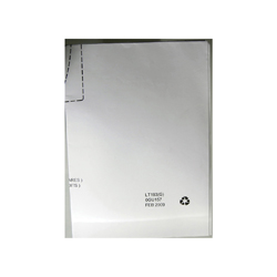 Toto® 0GU157 Template, For Use With LT193G Under Counter Lavatory