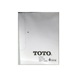 Toto® 0GU165 Template, For Use With Promenade® Under Counter Lavatory