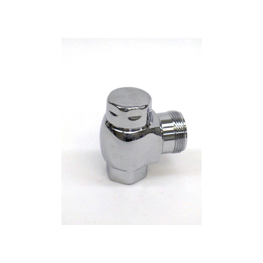 Toto® 10077T3 Angle Stop, For Use With VB9CP-32 1-1/2 in Outlet Top Spud Exposed Toilet, 1 in, Chrome Plated