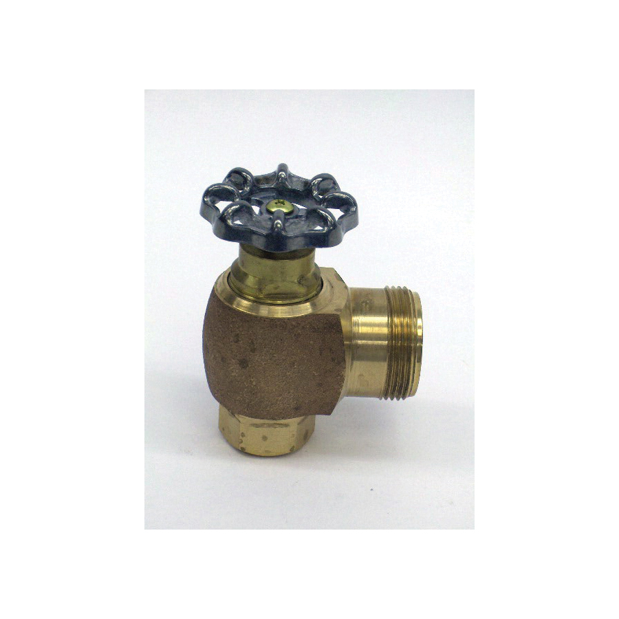 Toto® 10077T6 Angle Stop, For Use With EcoPower® TEU2GN 1 gpf Urinal Flushometer Valve, 3/4 in, Rough Brass