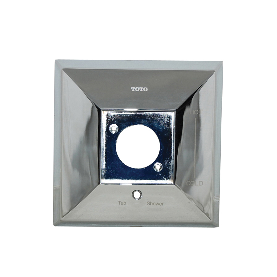 Toto® 1FU4145#CP Cover Plate, For Use With Lloyd™ Shower Faucet Trim, Polished Chrome