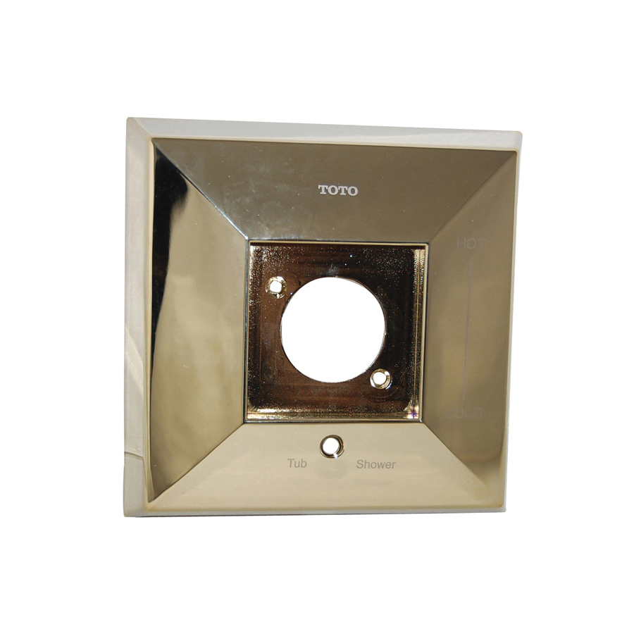 Toto® 1FU4145#PB Cover Plate, For Use With Lloyd™ Shower Faucet Trim, Polished Brass