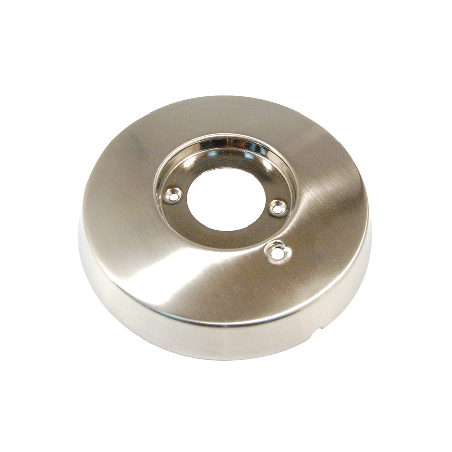 Toto® 7EU4008 Cover Plate, For Use With Nexus™ TS794PVSWN LifeKoat™ Brushed Nickel Shower Faucet and Bath Trim, PVD Brushed Nickel