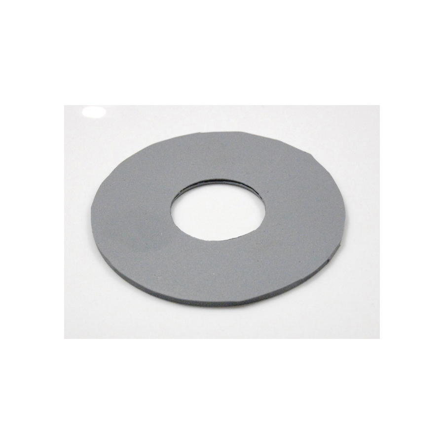 Toto® 9BU001ER Flapper Seal Gasket, For Use With Drake® CST744SDB 1.6 gpf G-Max® Elongated Toilet, Gray