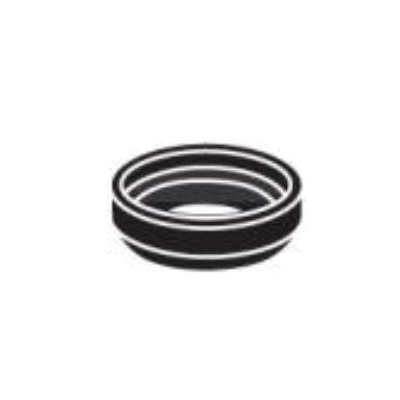 Toto® 9BU014E Tank-to-Bowl Gasket, For Use With Rowan™ CST405MF 1.6/1 gpf Round Front Toilet, ST703 and ST706 Toilet Tank, 2 in