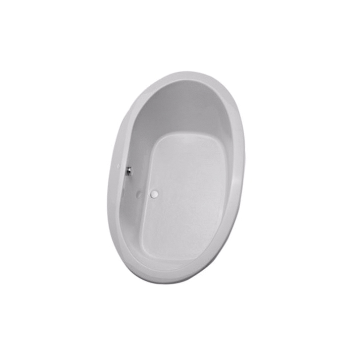 Toto® ABY904N#12N Pacifica® Bathtub, Soaking, Oval, 72 in L x 42 in W, Center Drain, Sedona Beige