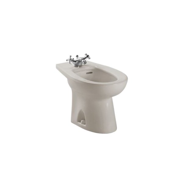 Toto® BT500AR#03 Piedmont® Bidet Toilet, 15 in H Rim, Bone