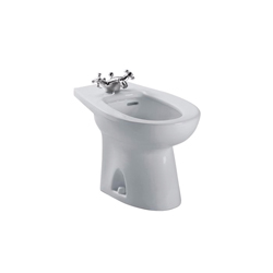 Toto® BT500AR#11 Piedmont® Bidet Toilet, 15 in H Rim, Colonial White