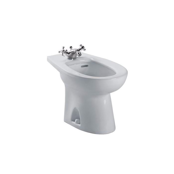 Toto® BT500AR#11 Piedmont® Bidet Toilet, 15 in H Rim, Colonial White