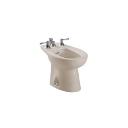 Toto® BT500B#03 Piedmont® Bidet Toilet, 15 in H Rim, Bone