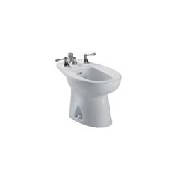 Toto® BT500B#11 Piedmont® Bidet Toilet, 15 in H Rim, Colonial White