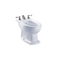 Toto® BT784B#01 Clayton™ Bidet Toilet, 15 in H Rim, Cotton, Import