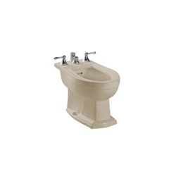 Toto® BT784B#03 Clayton™ Bidet Toilet, 15 in H Rim, Bone