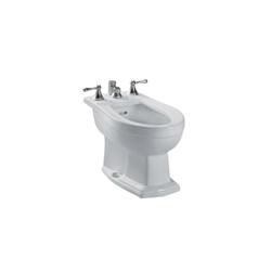 Toto® BT784B#11 Clayton™ Bidet Toilet, 15 in H Rim, Colonial White