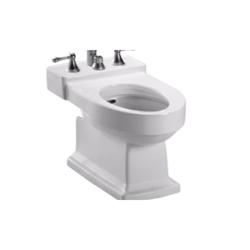 Toto® BT930B#01 Lloyd™ Bidet Toilet, 15 in H Rim, Cotton, Import