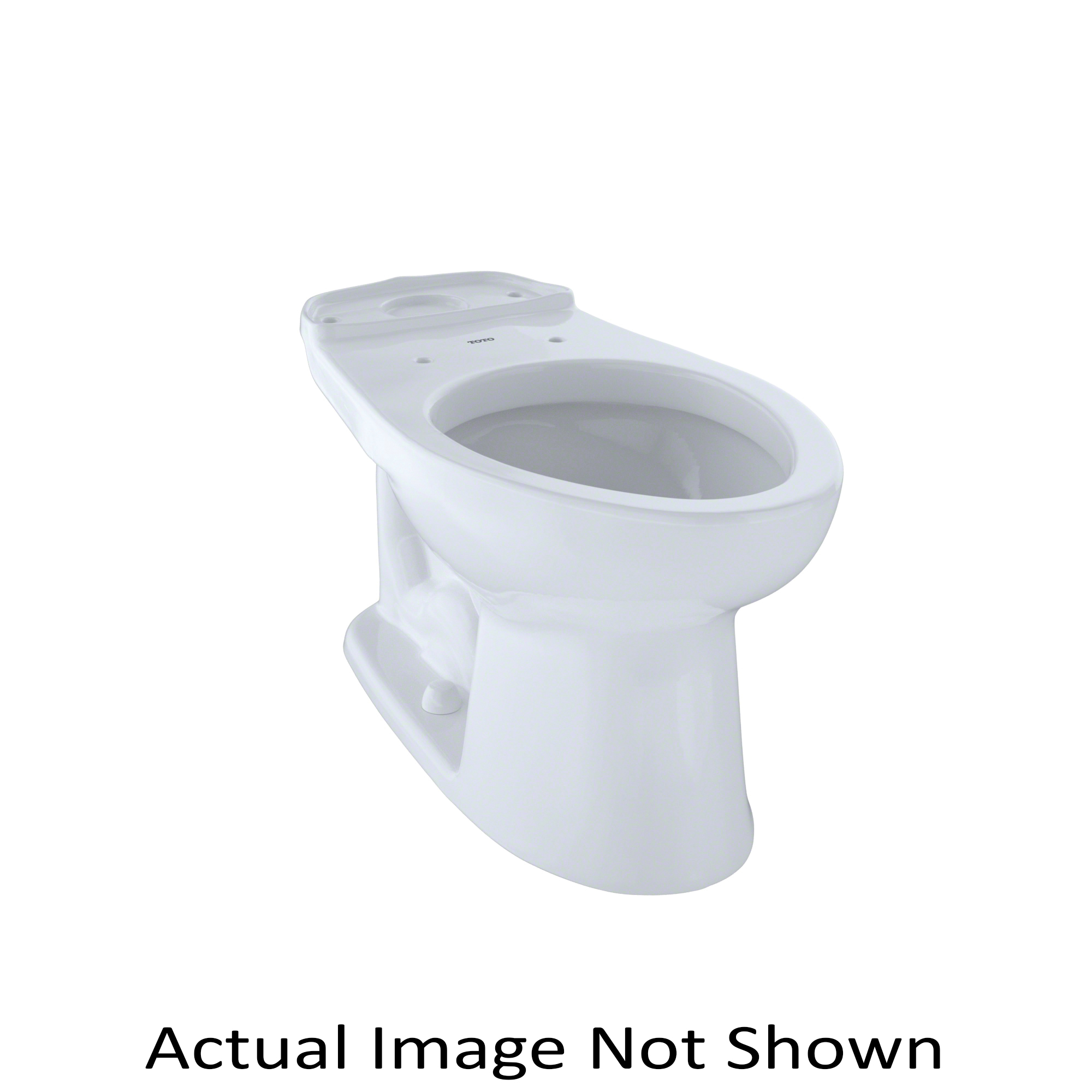 Consolidated Supply Co. | Toto® C744EL Drake® Toilet Bowl, Elongated ...