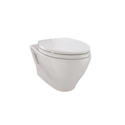 Toto® CT418F#12 Aquia® Wall-Hung Toilet, Elongated, 0.9/1.6 gpf, Sedona Beige