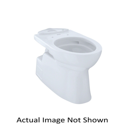 Toto® CT474CUFG#03 Vespin® II Toilet Bowl, Elongated Front, 6-7/8 x 9-3/4 in Water Surface, 17-1/4 in H Rim, 2-1/8 in Trapway, Domestic