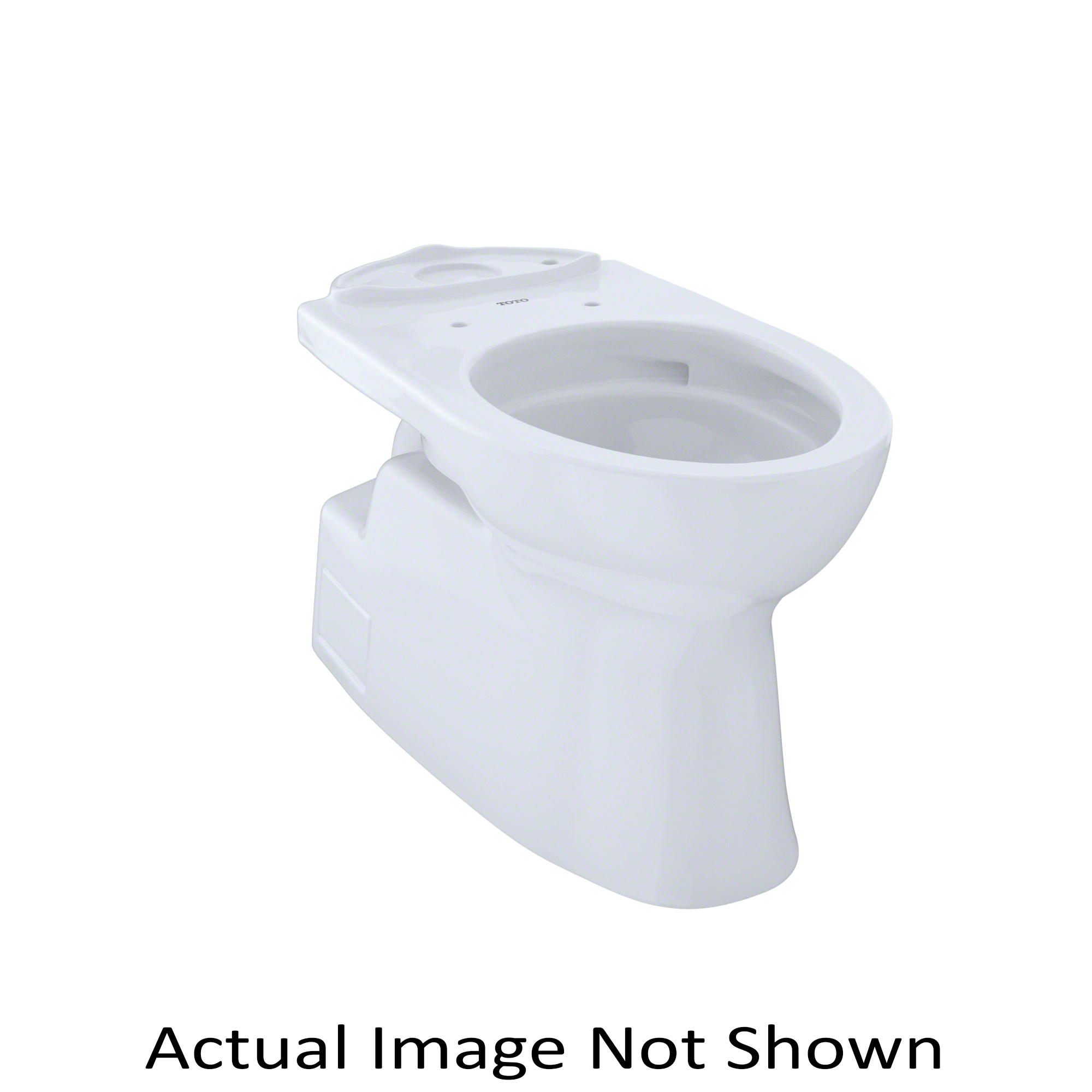 Toto® CT474CUFG#01 Vespin® II Toilet Bowl, Elongated Front, 6-7/8 x 9-3/4 in Water Surface, 17-1/4 in H Rim, 2-1/8 in Trapway, Domestic