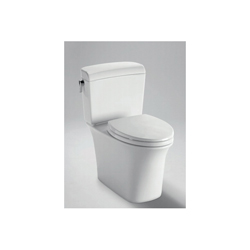 Toto® CT484CEFG#01 Maris™ Universal Height Close Coupled Toilet, Elongated Bowl, 17-1/4 in H Rim, 0.9/1.28 gpf, Cotton, Import