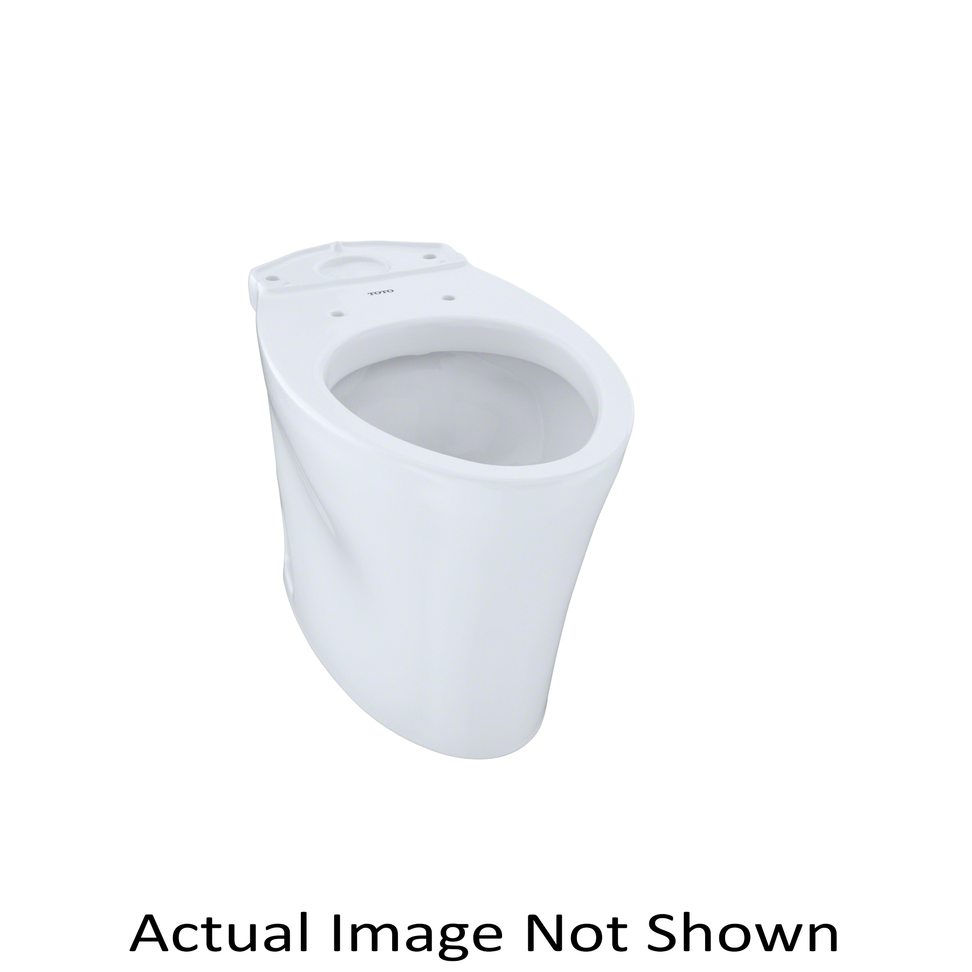 Toto® CT794EF#11 Toilet Bowl, Elongated, 8-1/4 x 10-1/4 in Water Surface, 17-1/4 in H Rim, 2-1/8 in Trapway, Import