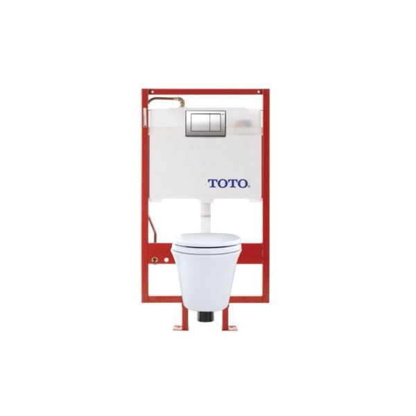 Toto® CWT486MFG-2#01 Maris™ Universal Height Wall-Hung Toilet, Elongated, 0.9/1.6 gpf, Cotton