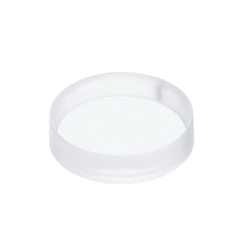 Toto® LLT152#63-WH Luminist® Lighted Vessel Lavatory Without Overflow, Round, 15-5/8 in D x 4-9/16 in H, Epoxy Resin, Angelic White