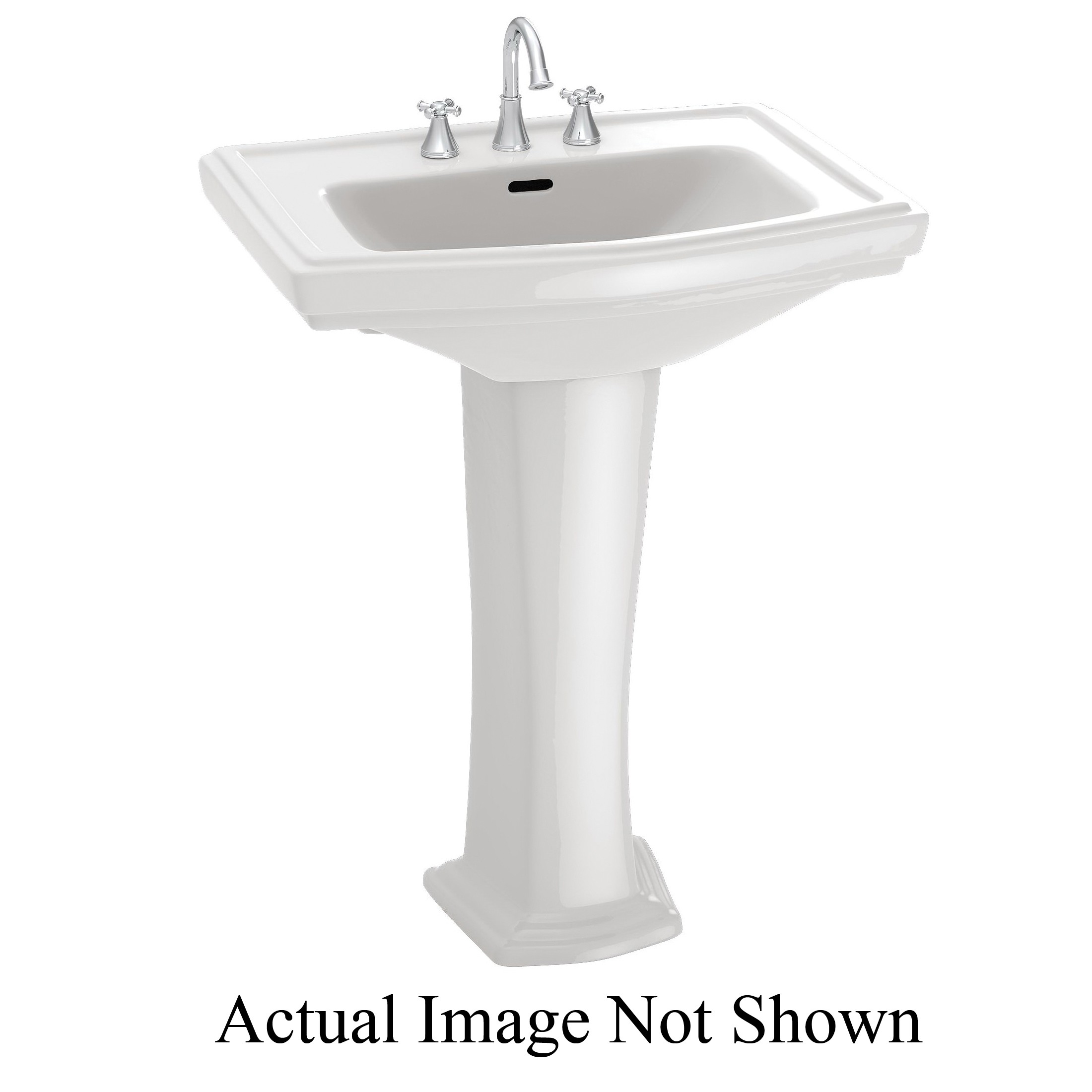 Consolidated Supply Co. | Toto® Pedestal, Vitreous China, White