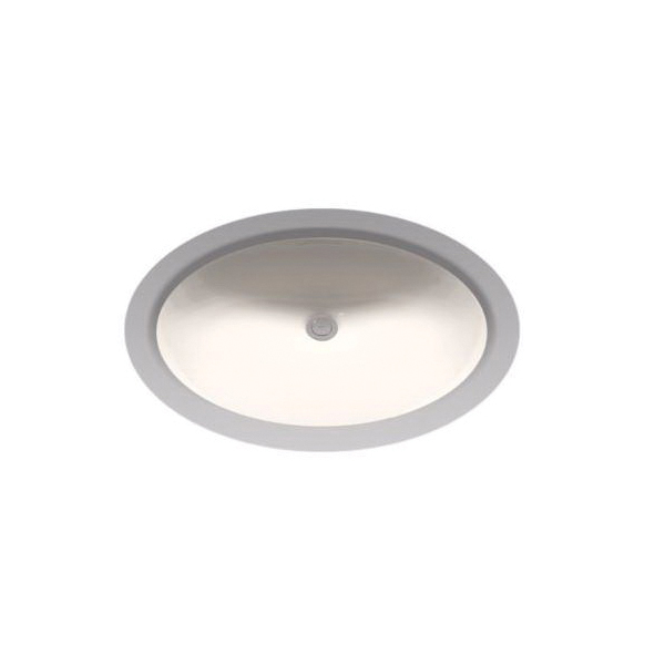 Toto® LT597G#12 Dantesca® Lavatory Sink With Consealed Front Overflow, Oval, 21-1/4 in W x 17-1/4 in D, Undercounter Mount, Vitreous China, Sedona Beige