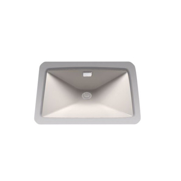 Toto® LT931#12 Lloyd™ Lavatory Sink With Rear Overflow, Rectangular, 23 in W x 16 in D, Undercounter Mount, Vitreous China, Sedona Beige
