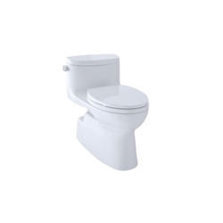 Toto® MS644114CEFG#01 Carolina® II Universal Height One-Piece Toilet, Elongated Bowl, 17-1/4 in H Rim, 1.28 gpf, Cotton, Domestic