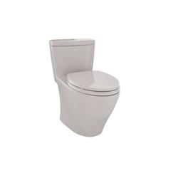 Toto® MS654114MF#03 Aquia® Universal Height One-Piece Toilet, Elongated Bowl, 17-1/4 in H Rim, 0.9/1.6 gpf, Bone, Domestic