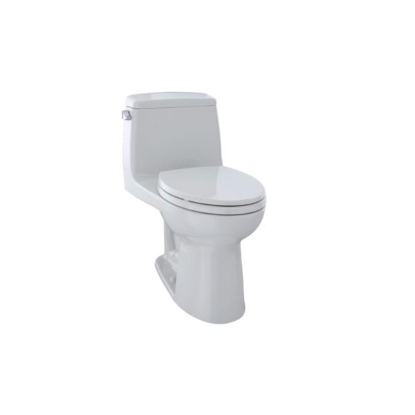 Toto® MS854114#11 Ultimate® One-Piece Toilet, Elongated Bowl, 15-11/16 in H Rim, 1.6 gpf, Colonial White, Domestic