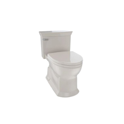 Toto® MS964214CEFG#03 Eco Soiree® Universal Height One-Piece Toilet, Elongated Bowl, 17-3/8 in H Rim, 1.28 gpf, Bone, Domestic